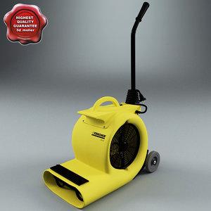 karcher ab84 air blower 3d max