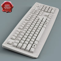 keyboard modelled 3d max