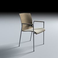 Selmer Fina Metal Chair C4D
