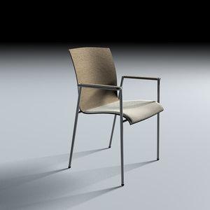 3d metal chair selmer fina