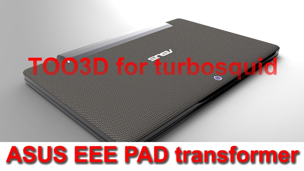3d asus eee pad keyboard model