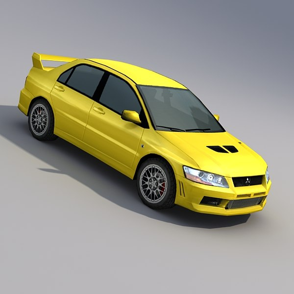 3d model vehicles car rendering