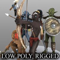 Low Poly Goblins