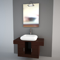 Bathroom furniture set 2