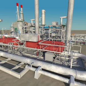 maya oil refinery plant tanks