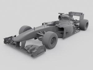 3d model f1