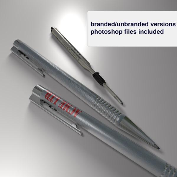 business ballpoint pen ball 3ds free
