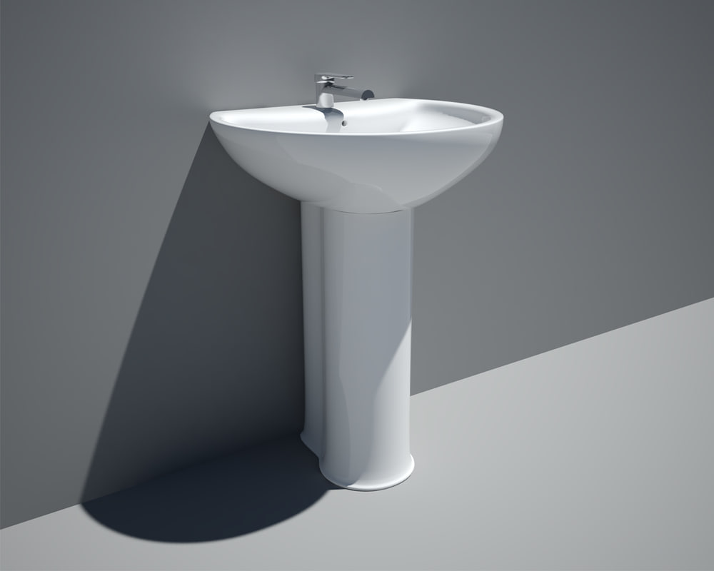 3ds max vicenta sink tap
