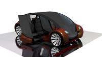 design concept car 3d max