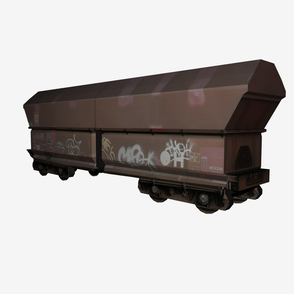 maya train car