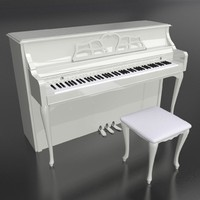 piano 3d 3ds