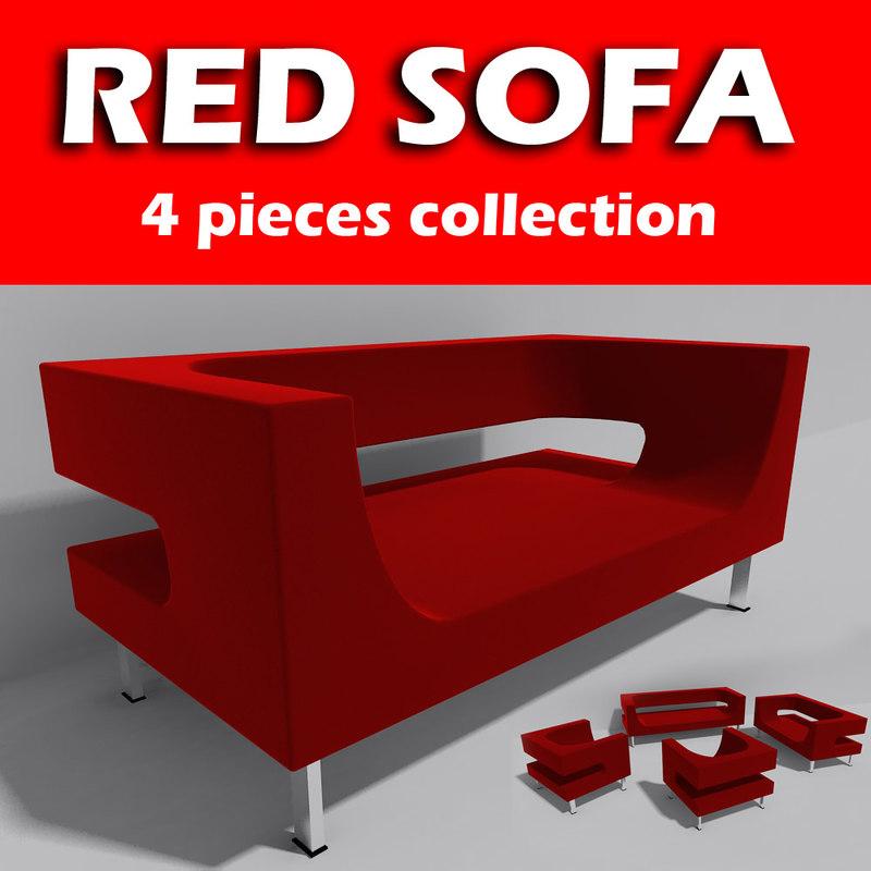 3ds modern sofa