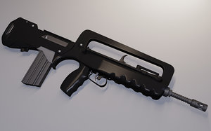 3d rifle french army model