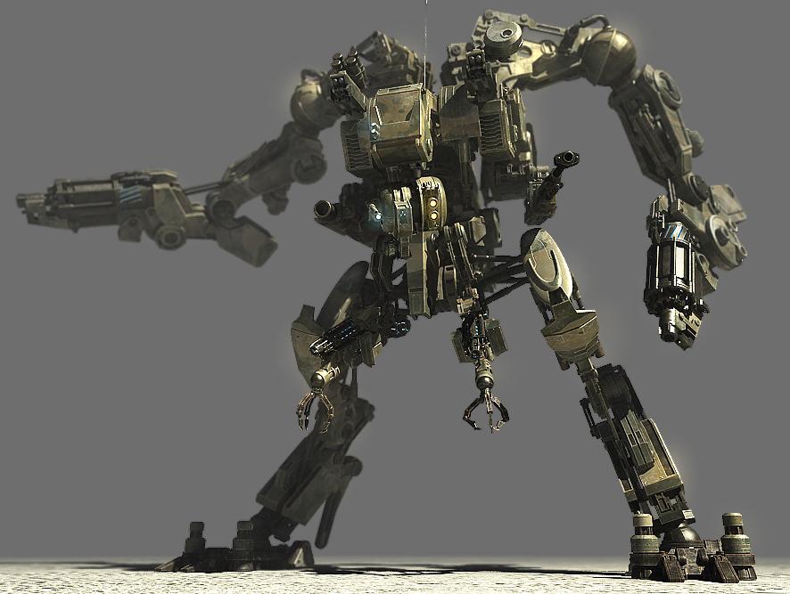 robot bot 3ds