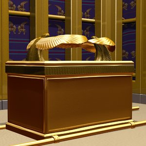 tabernacle ark covenant 3d max