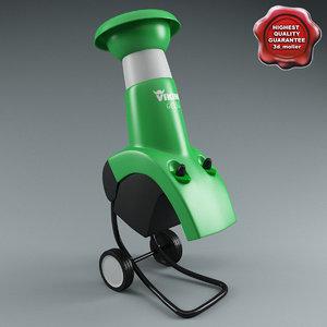 3d max electric shredder viking ge