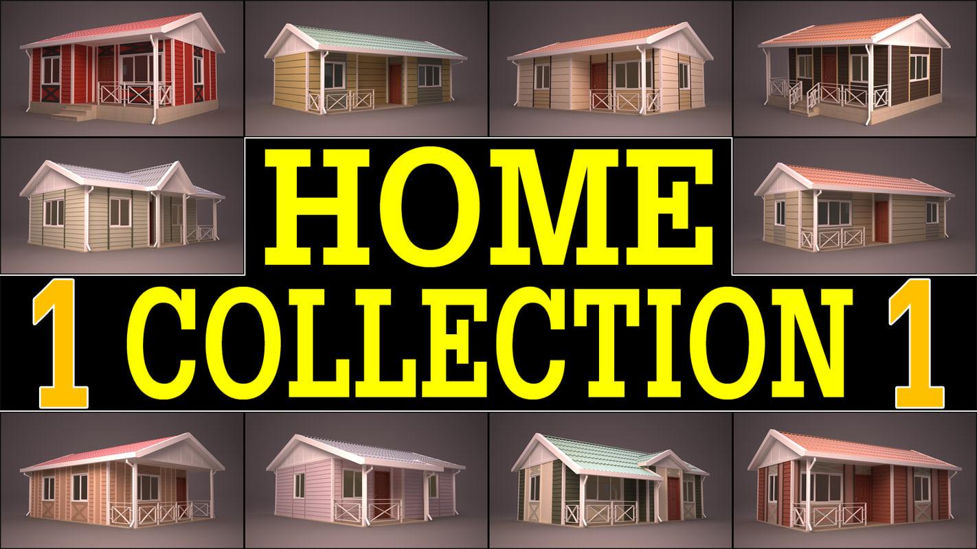 obj house homes