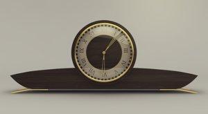 of wooden clock