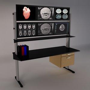 lab bench desk max