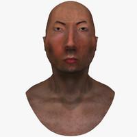 3d head guy model