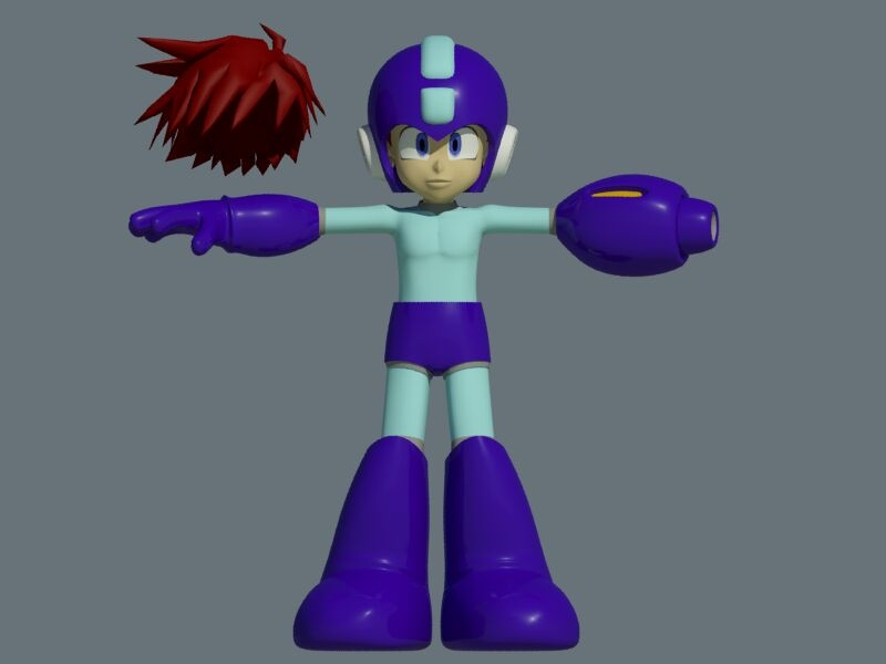 megaman rockman child max