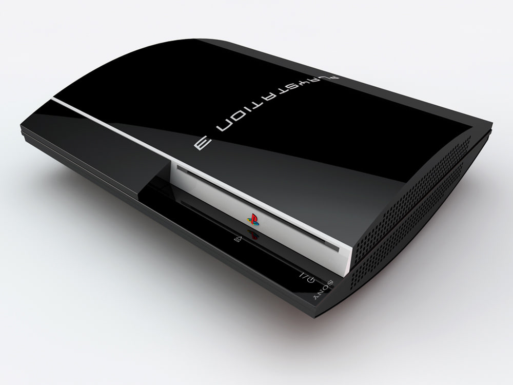 sony playstation3 3d c4d