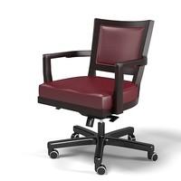 Promemoria Caffe ufficio executive work task armchair chair swivel leather office leather