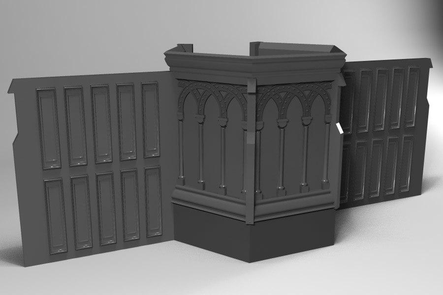 christian pulpit 3ds