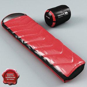 sleeping bag trespass 3d lwo