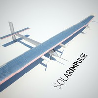 3d model of solar impulse