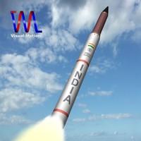 DRDO AGNI-4 IRBM Missile