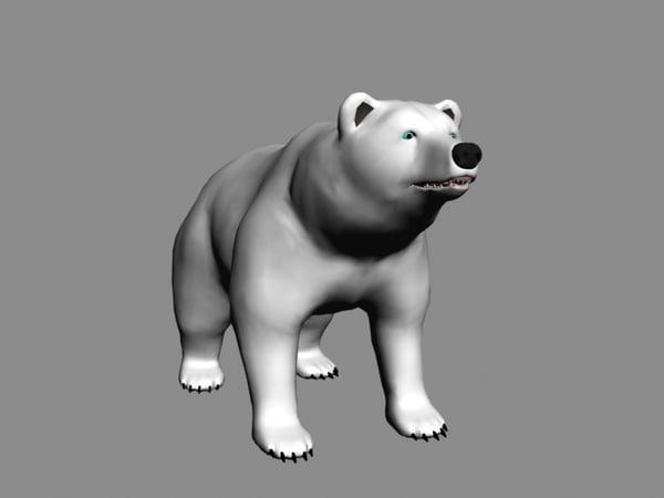 free max mode polar bear