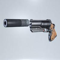 handgun revolver