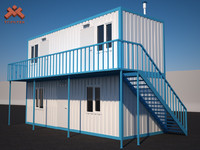 house shipping containers 3ds