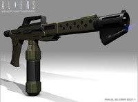 ALIENS M240 Flamethrower