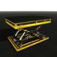 3d table lift model