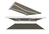 3d model awning