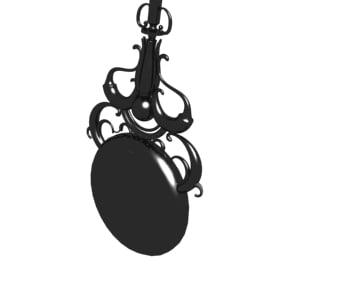 3d moving pendulum