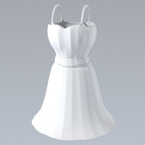 3ds max short dress