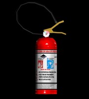3d extinguisher games model