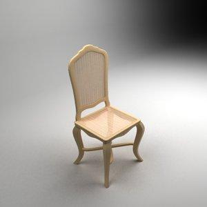 3d model bastila chair