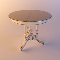 Dolfi - small round table ART 0612