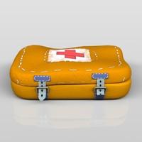 aid kit 3d max