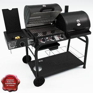 grill v8 3d model