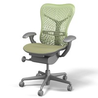 Herman Miller Mirra ergonomic office task executive swivel chair