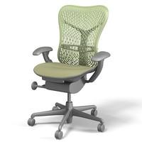 Herman Miller Mirra ergonomic office task executive swivel chair