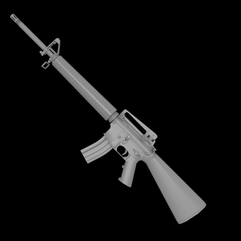 m16a3 rifles assault m16 3d lwo