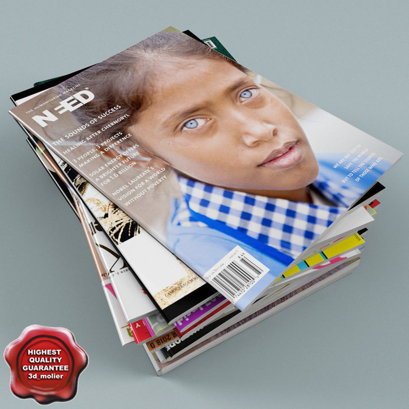 3d model magazines v2