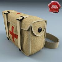 military aid kit 3d max