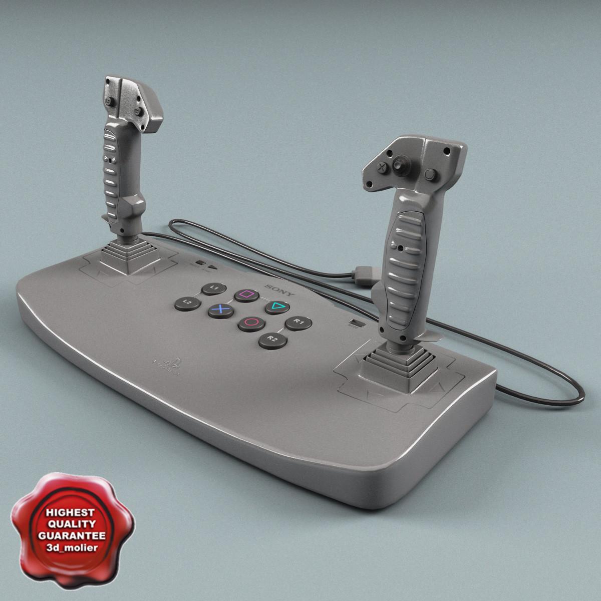 playstation analog joystick 3d 3ds